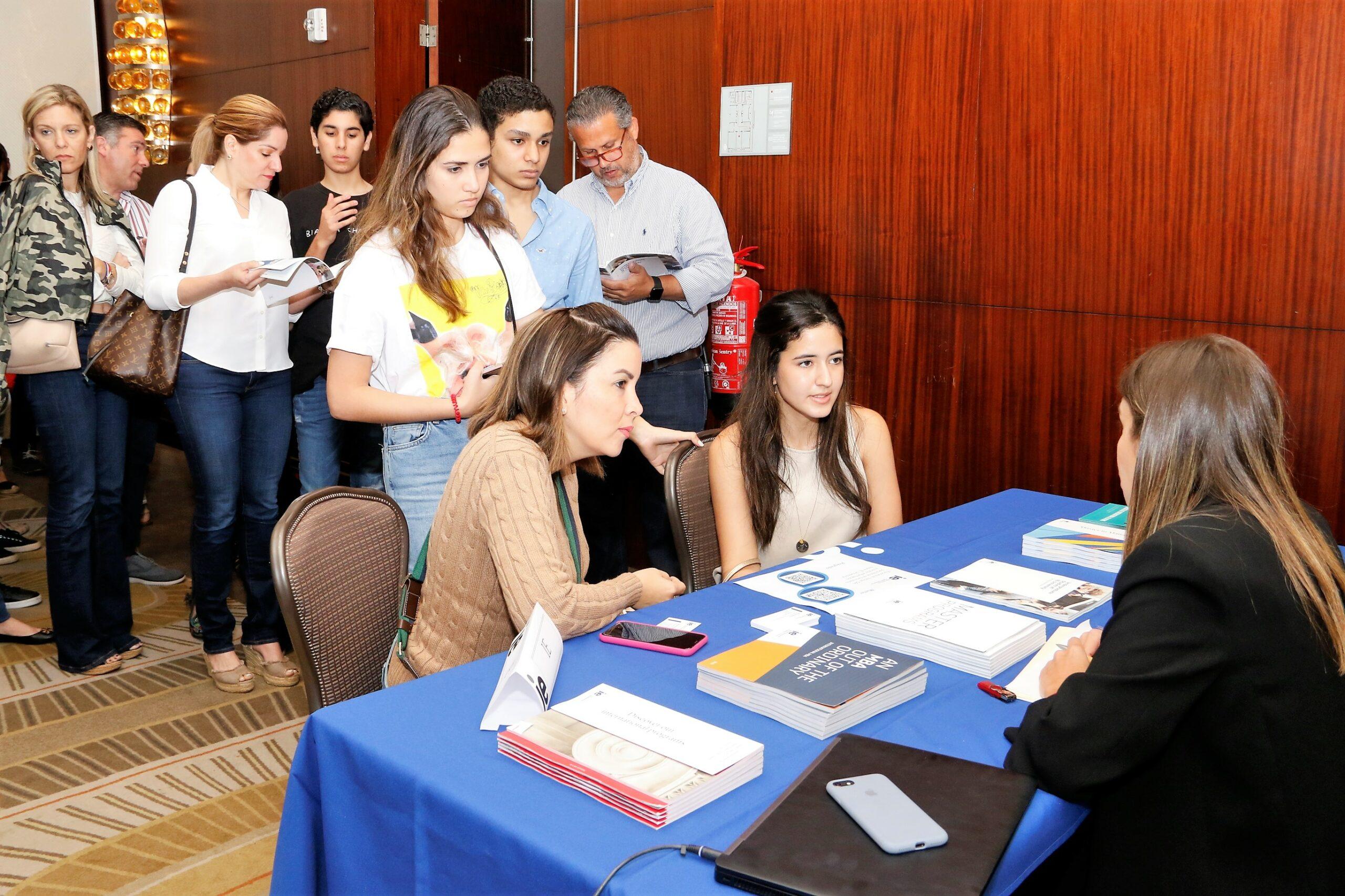 Feria de Universidades españolas organizada por la Cámara de Comercio de España.
