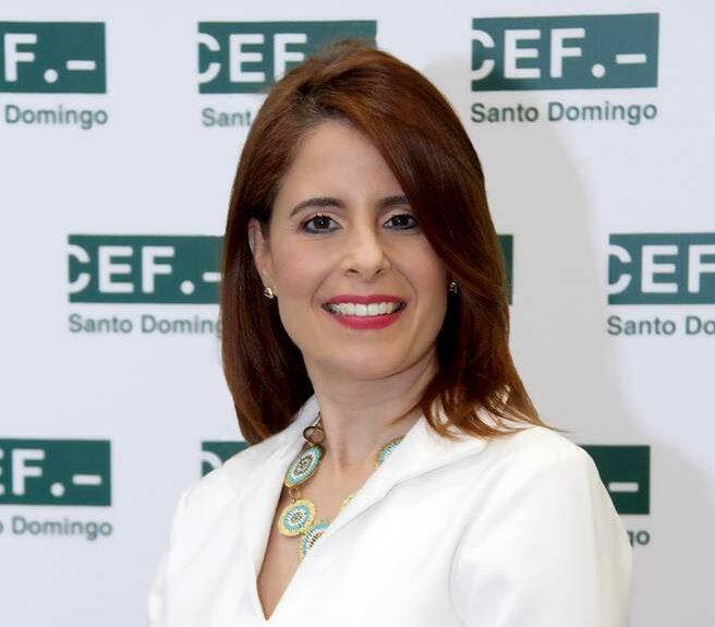 Patricia Portela, rectora de CEF.- Santo Domingo.