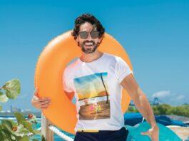 Mondino by José Jhan colección Resort 2020.. Las piezas incluyen una carita feliz.