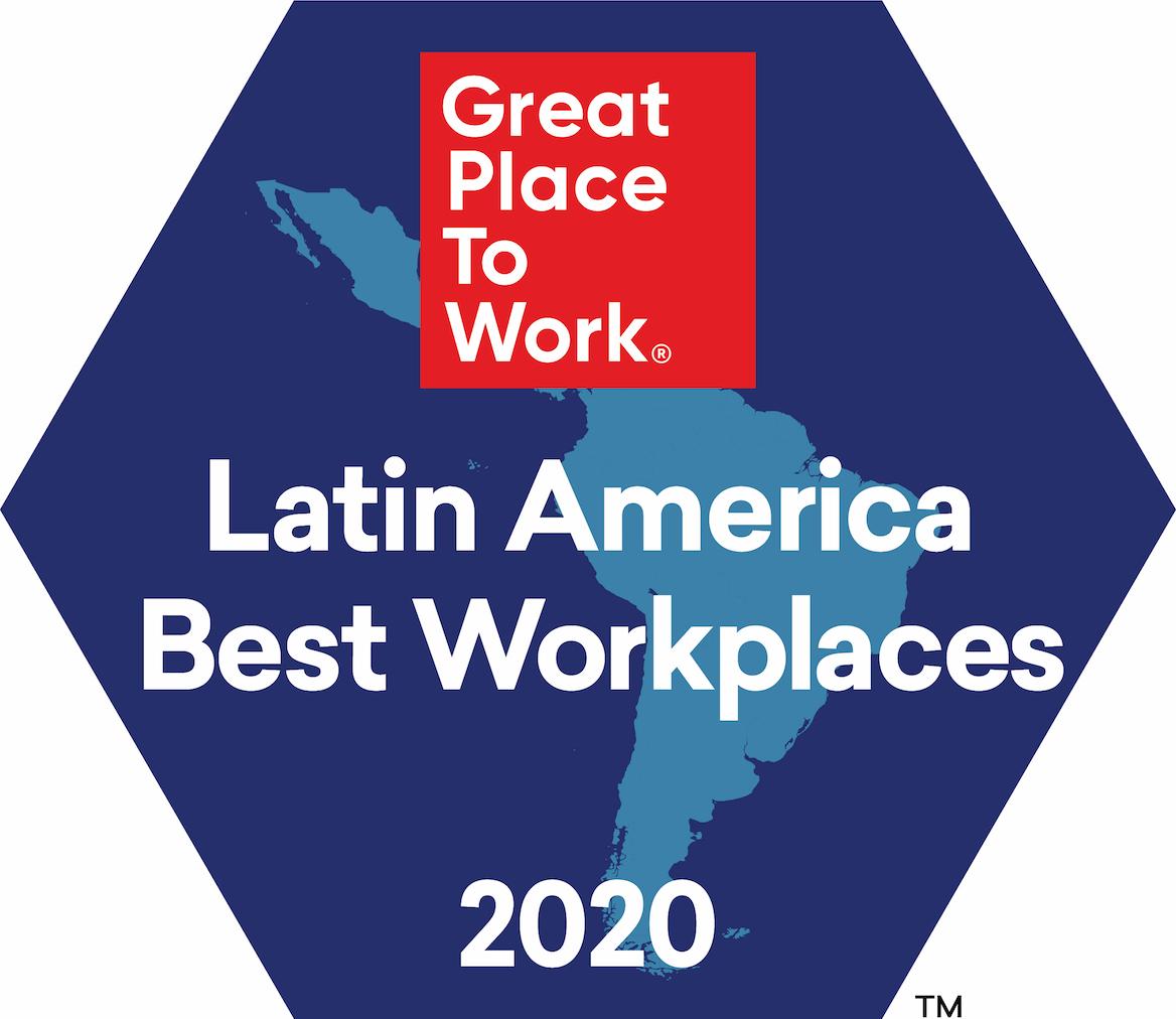 Best Workplaces Regional América Latina 2020.