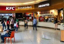 Restaurantes de Ágora Mall reanudan servicios, luego de tres meses y medio cerrados por el coronavirus.