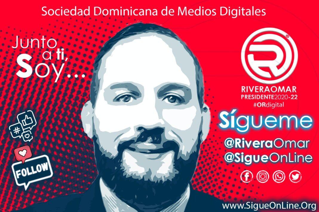 Omar Rivera, candidato a la presidencia de la Sociedad Dominicana de Medios Digitales 2020-2022.