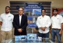Emanuel Castillo, Johnny Domínguez Giraldi, Marcos Pichardo y Donadin Aquino.