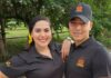 Isolina Pérez y Robert Medina, dos jóvenes emprendedores.