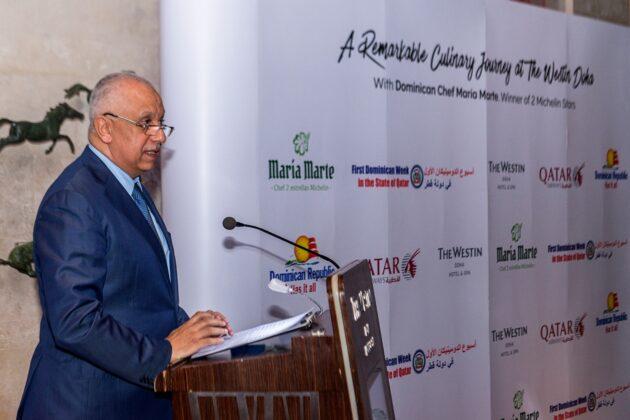 El vicepresidente senior de Qatar Airways, Ehad Amin.