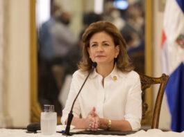 Vicepresidenta Raquel Peña.