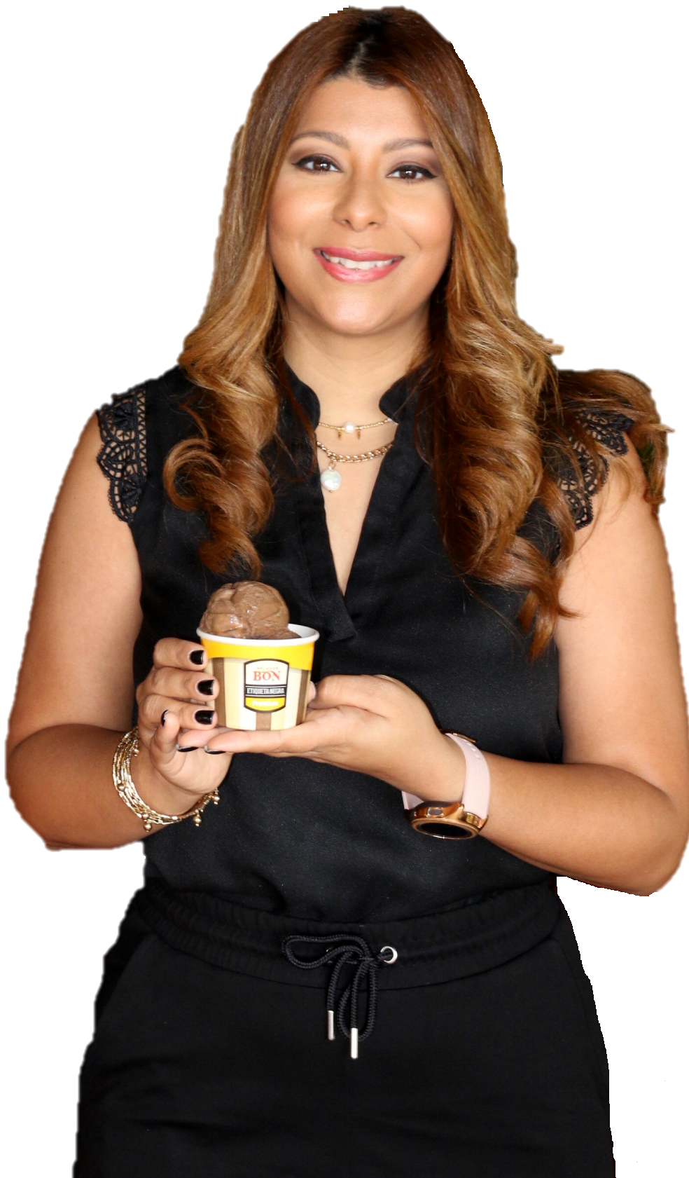 Laura Pérez, gerente de mercadeo de Helados Bon.