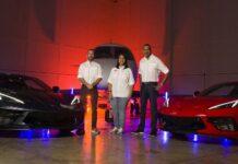 Ricardo Torres, Carmen Pichardo y Juanchi Drift.